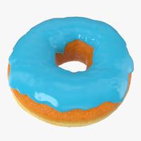 blue donut model