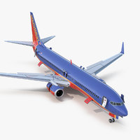 boeing 737-900 er southwest 3D model