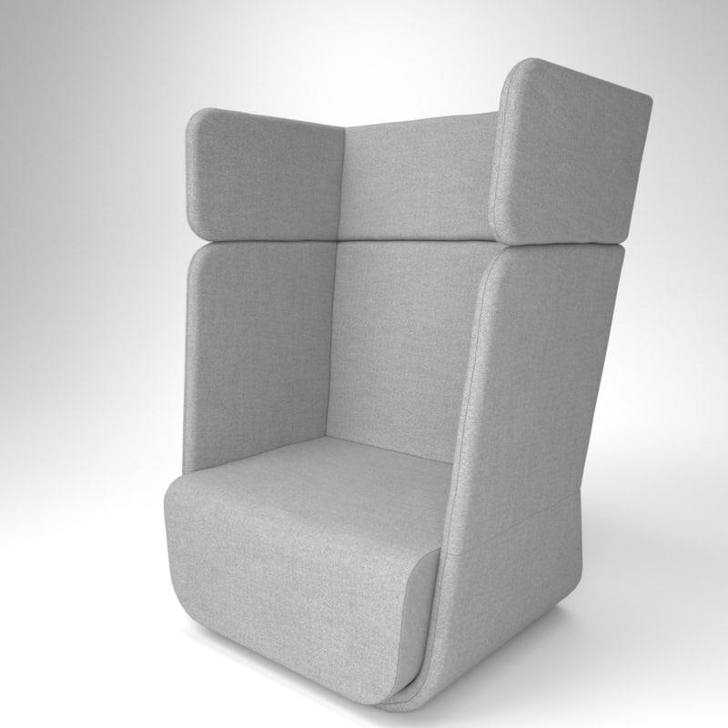 3D interior soft line basket model