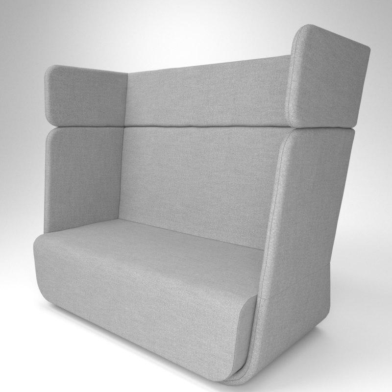 interior soft line basket 3D model