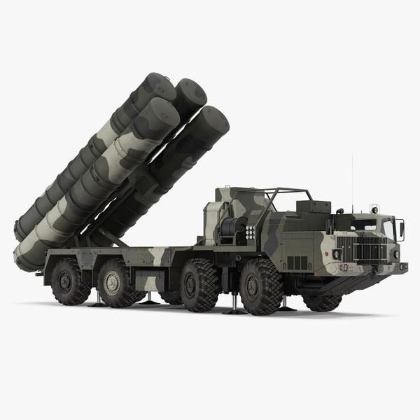 sa-10 grumble s-300 russian 3D