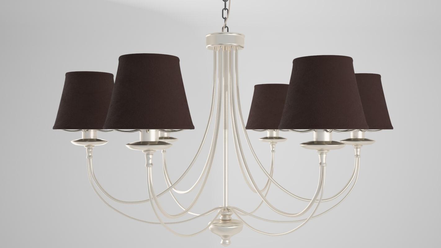 chandelier sconce 3D model