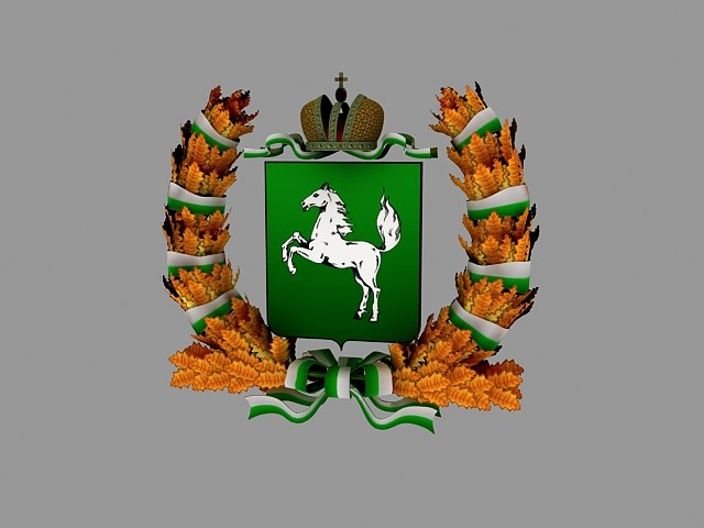 3D emblem tomsk