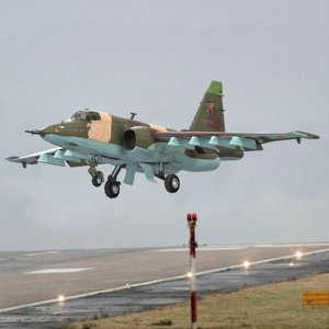 su-25 russian 3D model