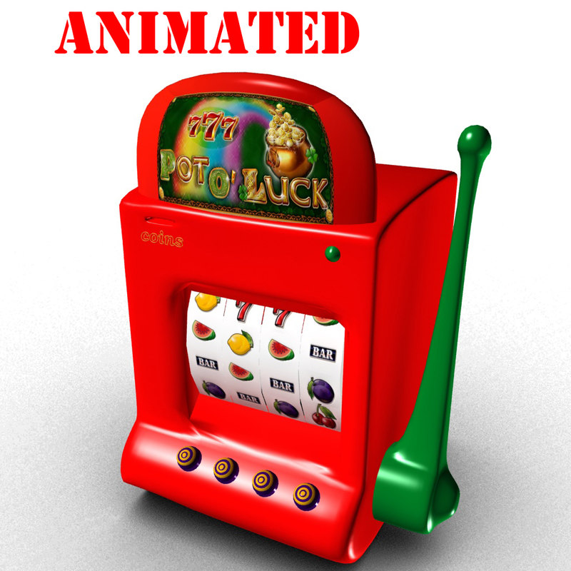 3D fruit machine