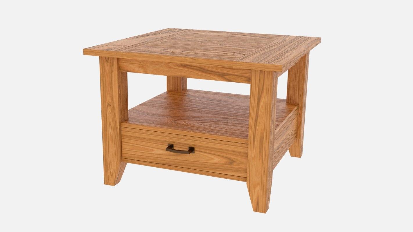 3D model designed furniture