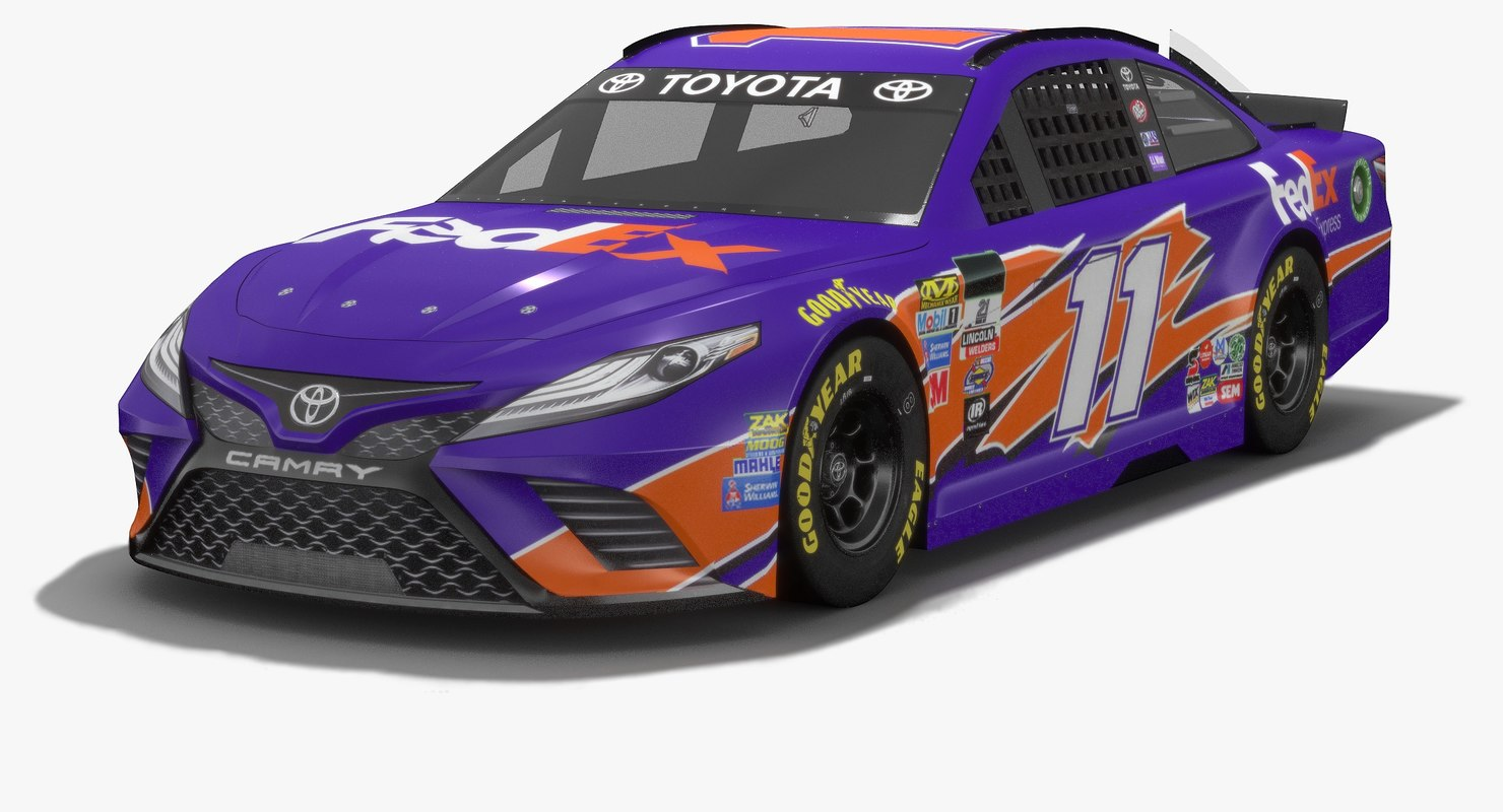 3D joe gibbs racing nascar
