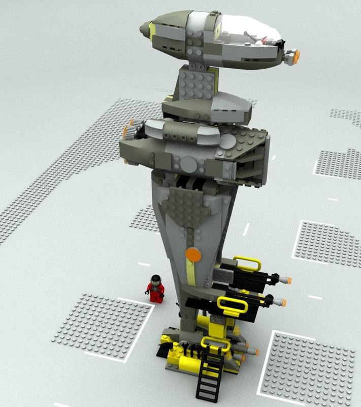 lego sw b fighter model