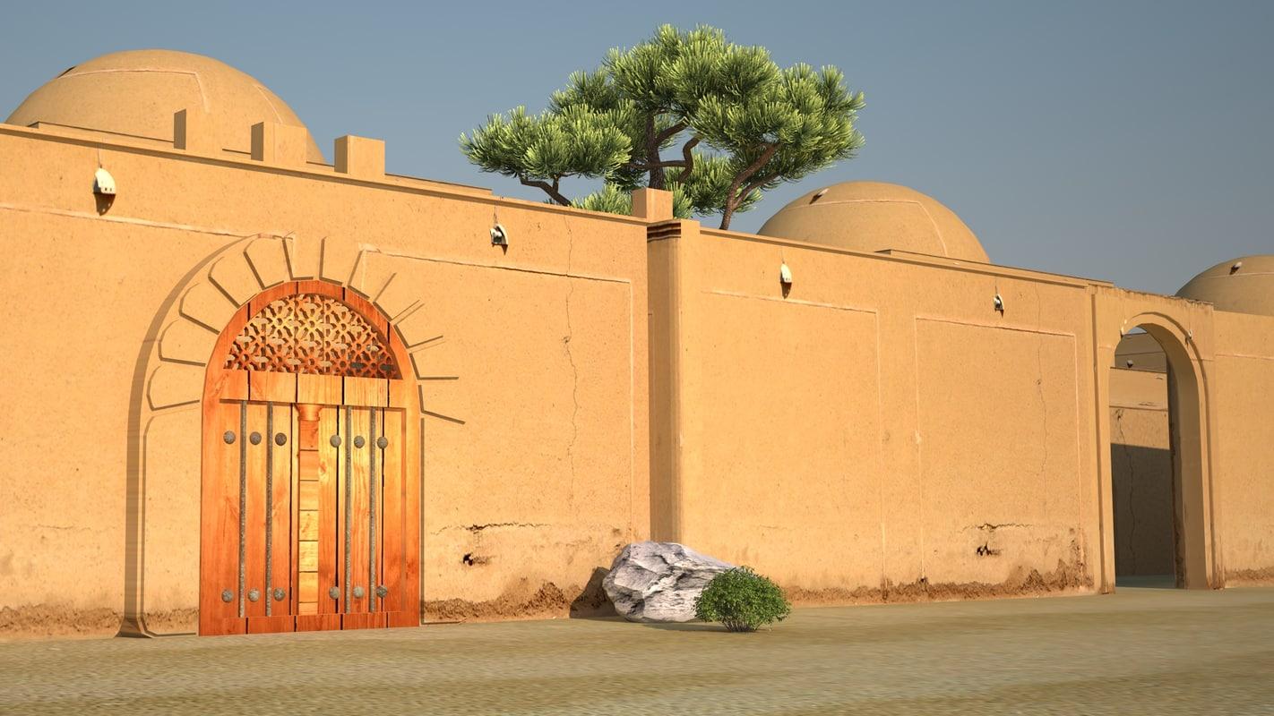 3D arab home model