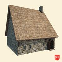 3D historic medieval model