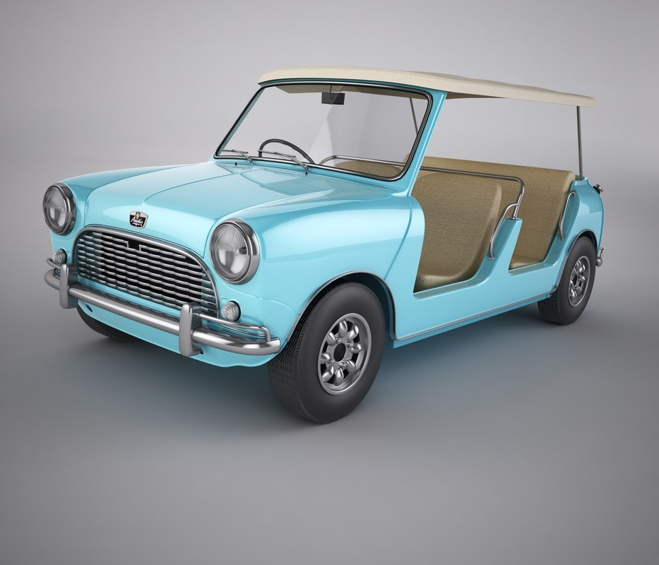 3D jolly beach car