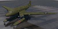 Douglas XC-47C Floatplane