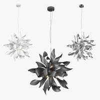 3D chandelier turbio lightstar model