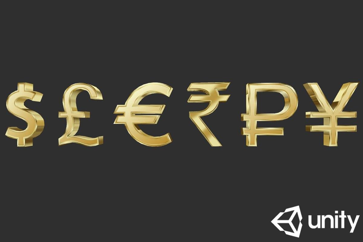 currency symbols model