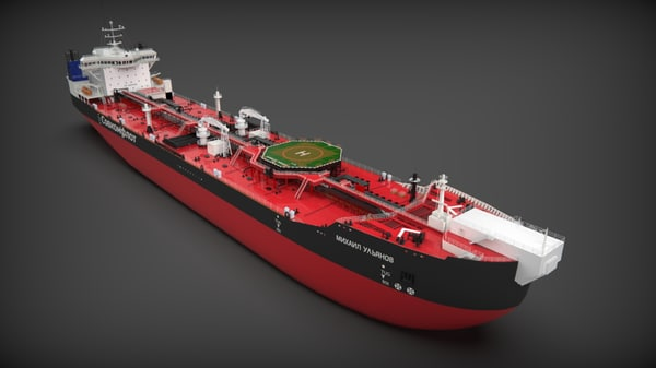 3D model oil tanker p-70046