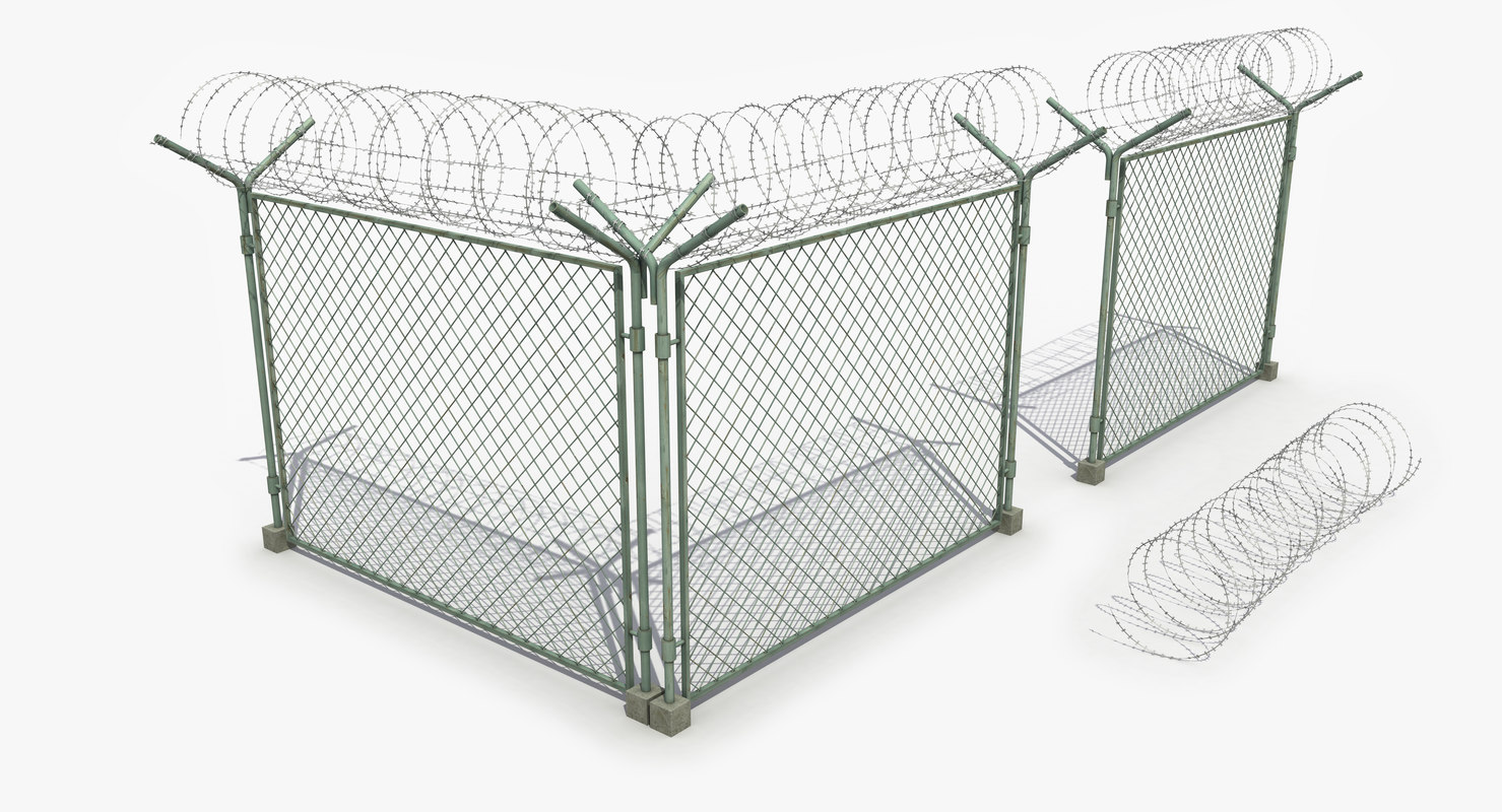 3d barb fence wire