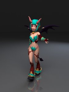 succubus rigged model