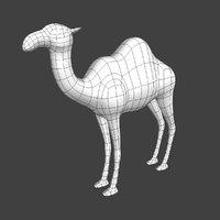 3D camel mesh