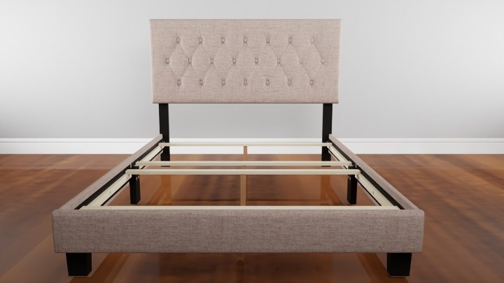 cassandra bed frame 3D model