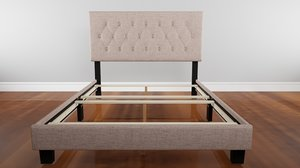 cassandra bed frame 3D model