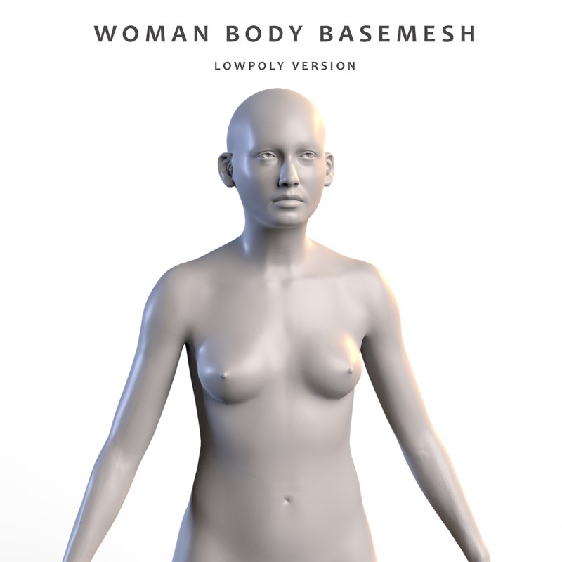 3d Woman Anatomy Model Turbosquid 1253425