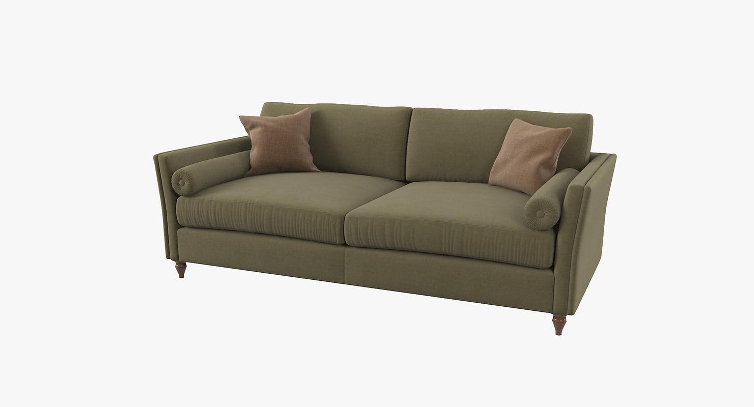 mantellassi couture bramante sofa 3D