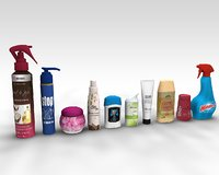 3D cosmetic product