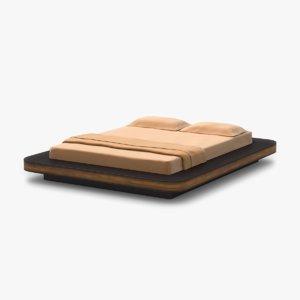 platform bed 3d model