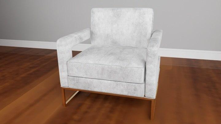 avery velvet chair model