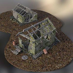 buildings daz studio model