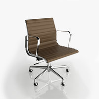 aluminium eames chair 3D model