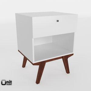 scandinavian modernism 3D model