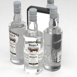 vodka bottle model