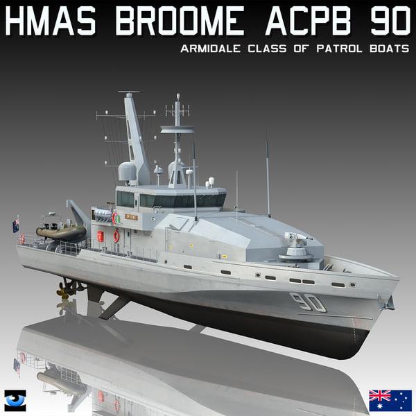 hmas broome acpb 90 3D model