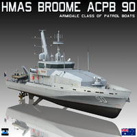 hmas broome acpb 90 3D model