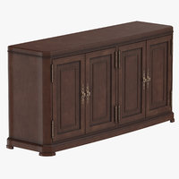 3D classical sideboard model