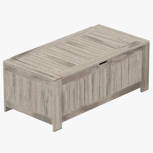 3D century modern chest