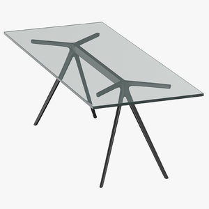 3D modern dining table