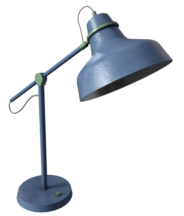 desk lamp 3D
