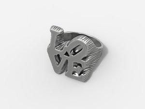 ring love 3D model
