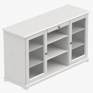 3D scandinavian sideboard