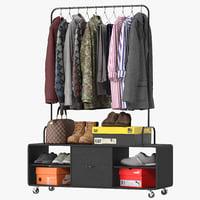 nordal clothes rack 3D model