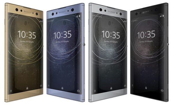 sony xperia xa2 ultra 3D model