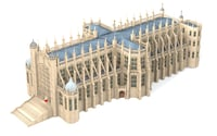st george s chapel model