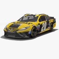 joe gibbs racing nascar 3D model