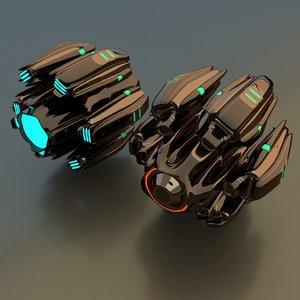 3D star drive