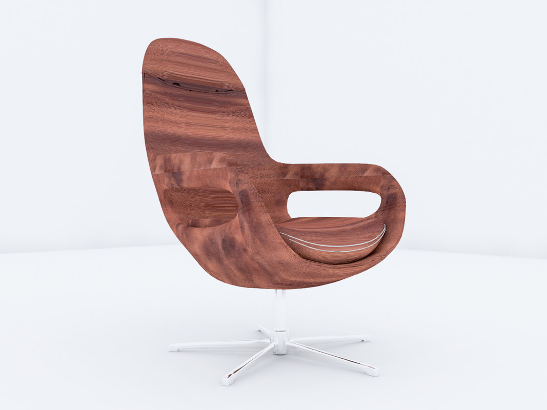 3D office chair revit