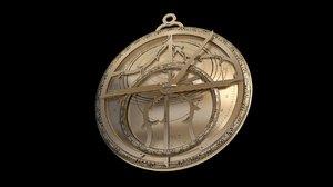 3D astrolabe