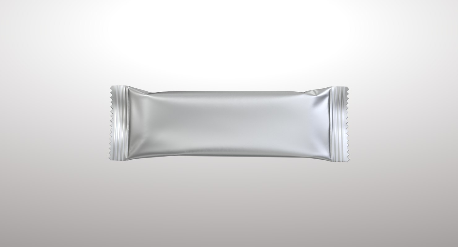 3D model realistic food packaging 05