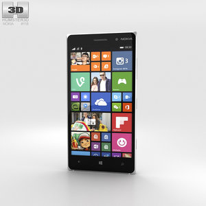nokia lumia 830 3D model